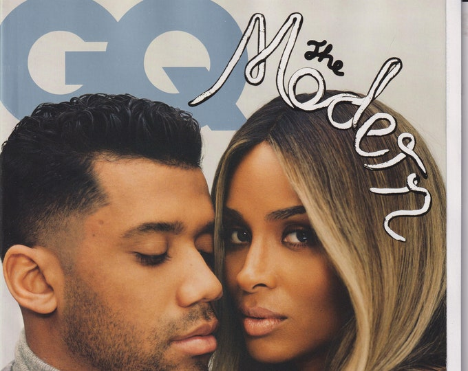 GQ  March 2021 Ciara and Russell Wilson - The Modern Lovers Issue (Magazine: Men's, General Interest)