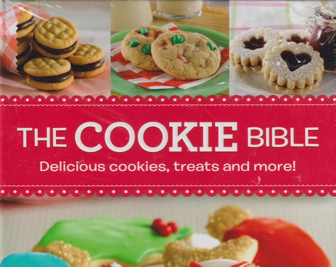 The Cookie Bible  (Hardcover: Cooking, Recipes) 2018