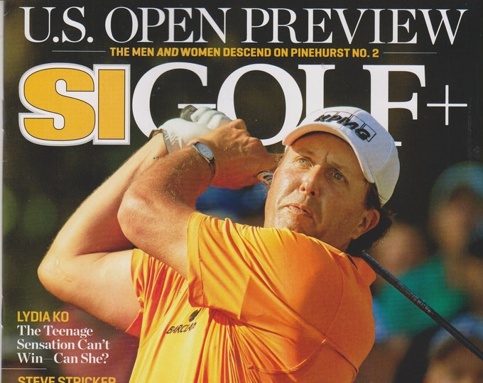 SI Golf + June 9,2014 Phil Mickelson Lefty's Last Hurdle - US Open Preview (Magazine: Golf, Sports)