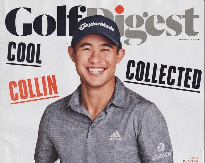 Golf Digest January 2021 Cool Collected Collin Morikawa (Magazine: Golf)