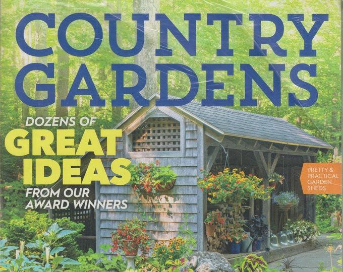 Country Gardens Fall 2019  Dozens of Great Ideas From Our Award Winners  (Magazine:  Garden, Gardening)