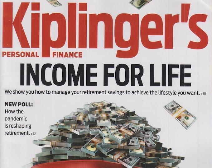 Kiplinger's October 2021 Income For Life (Magazine: Personal Finance)