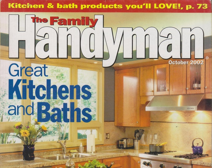 The Family Handyman October 2002 Great Kitchens and Baths (Magazine: DIY, Home Improvement)