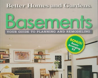 Basements - Your Guide to Planning and Remodeling  (Softcover: Home Improvement, How-To) 2000