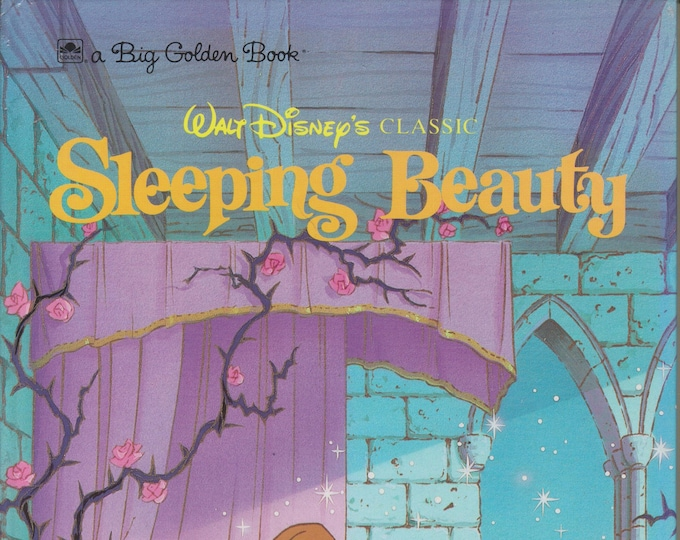 Sleeping Beauty (Walt Disney's Classic) A Big Golden Book  (Hardcover, Disney, Children's)  1991