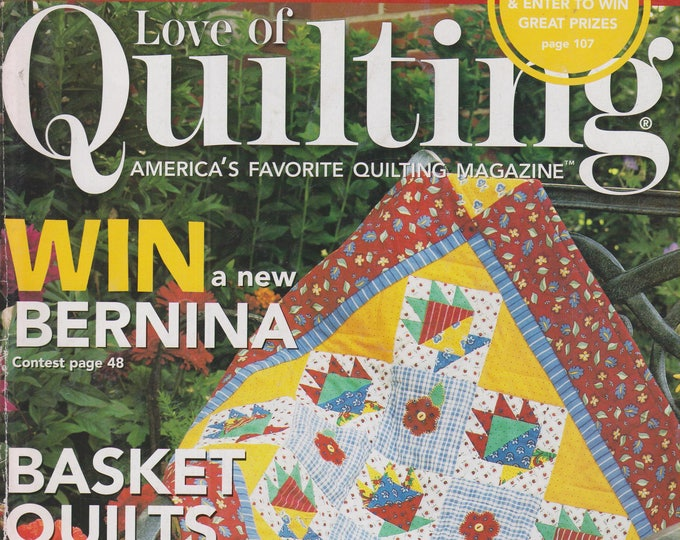 Fons & Porter's - Love of Quilting May/June 2007 Basket Quilts You Can Make (Magazine, Crafts, Sewing)