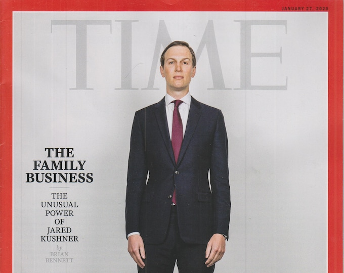 Time January 27, 2020 Jared Kushner - The Family Business    (Magazine: Current Events, Nonfiction)