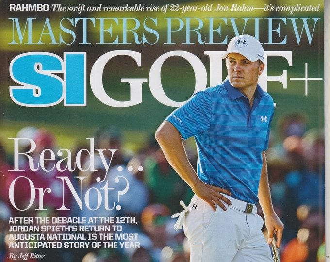 SI Golf + April 10, 2017 Jordan Spieth, Masters Preview (Magazine: Golf, Sports)