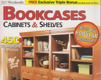 Bookcases, Cabinets & Shelves  (Softcover: Wood Crafts, Furniture) 2009