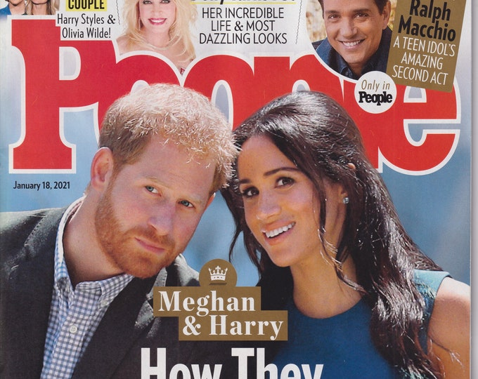 People January 18, 2021 Meghan & Harry How They Changed The Royal Family Forever (Magazine: Celebrity, General Interest)