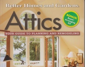 Attics - Your Guide to Planning and Remodeling  (Softcover: Home Improvement, How-To) 1999