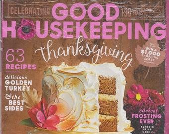 Good Housekeeping November 2015 Thanksgiving - 63 Recipes   (Magazine: Home & Garden)