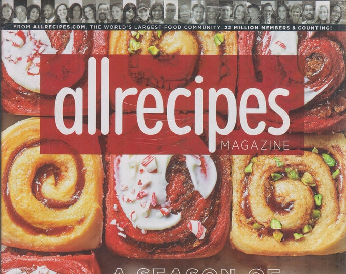 Allrecipes December 2019/January 2020 A Season of Sweet! (Magazine: Cooking, Recipes)