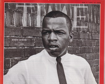 Time August 3/10, 2020 John Lewis 1940-2020 (Magazine: Current Events, News))