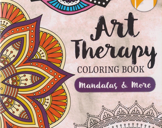 Art Therapy Coloring Book Mandalas & More (Paperback: Adult Coloring Books)