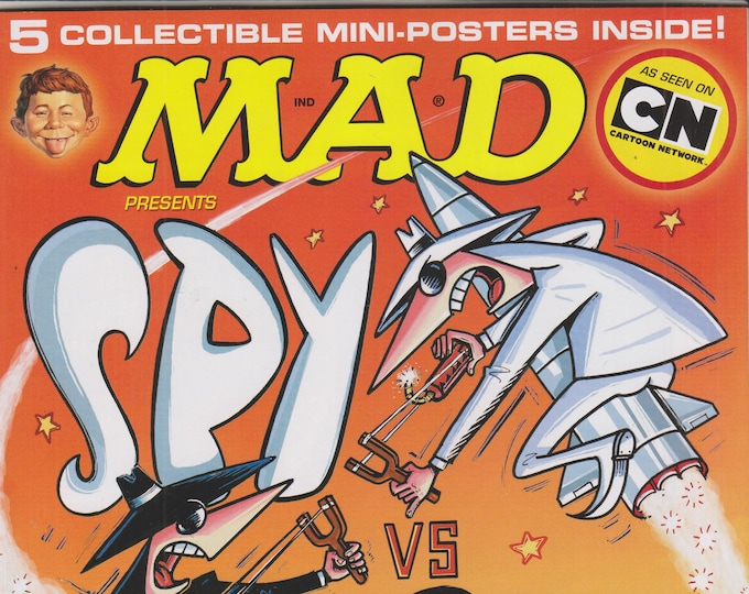 Mad Magazine Special January 2011 Spy vs. Spy (5 Collectible Mini-Posters Inside) (Magazine: Humor, Comic, Satire)