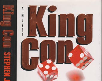 King Con by Stephen J Cannell (Hardcover; First Edition,  Crime) 1997