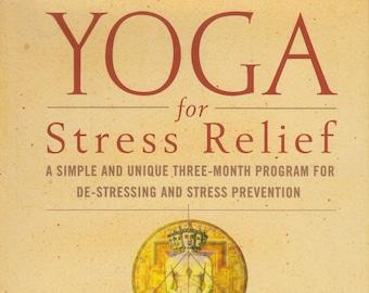 Yoga for Stress Relief by Swami Shivapremananda  (Hardcover, Exercise, Yoga, Stress,  Health)  1998