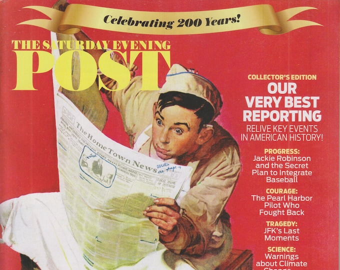 The Saturday Evening Post September October 2021 Collector's Edition Our Very Best Reporting (Magazine, Americana)