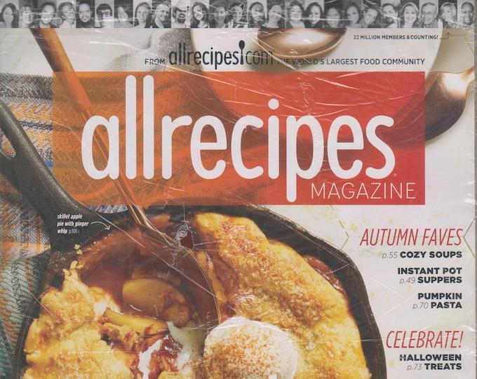 Allrecipes October/November 2018 Autumn Faves