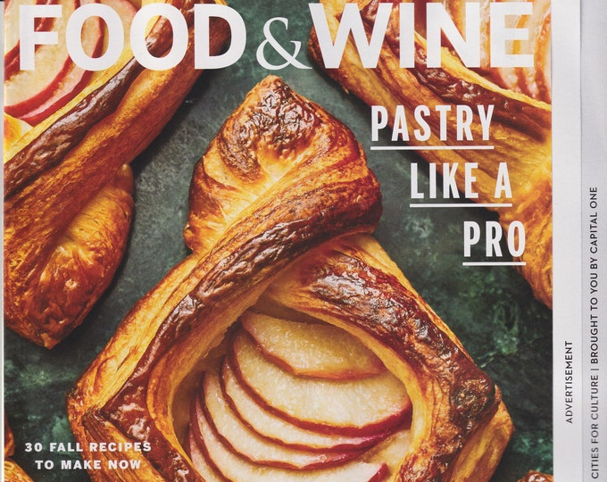 Food & Wine September 2020 Pastry Like a Pro (Magazine:  Wine, Cooking, Recipes)