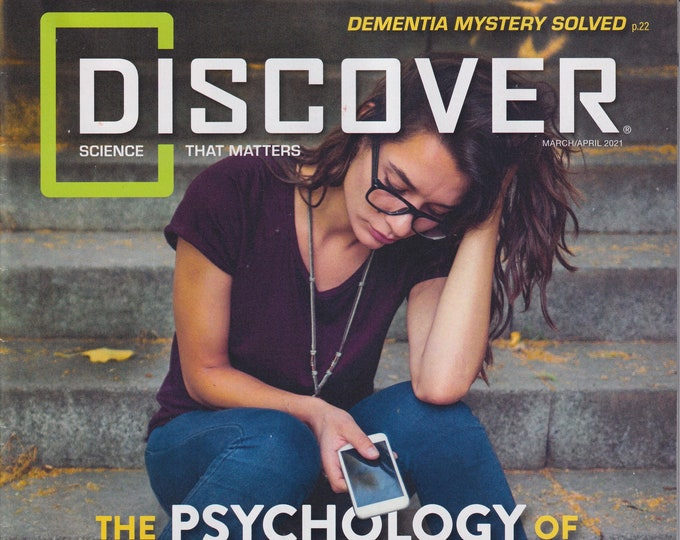 Discover March April 2021  The Psychology of Cyberbullying  (Magazine: Science)