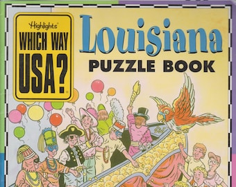 Highlights Which Way USA?  Louisiana Puzzle Book (Softcover: Children's, Educational)   1999