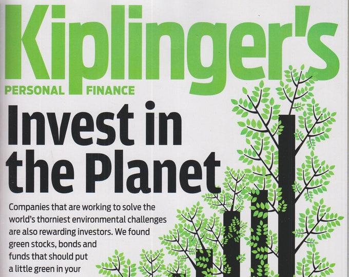 Kiplinger's April 2020 Invest in the Planet  (Magazine: Personal Finance)