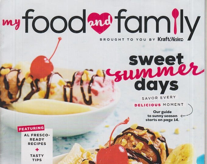 My Food and Family Summer 2020 Sweet Summer Days  (Magazine: Cooking, Recipes)