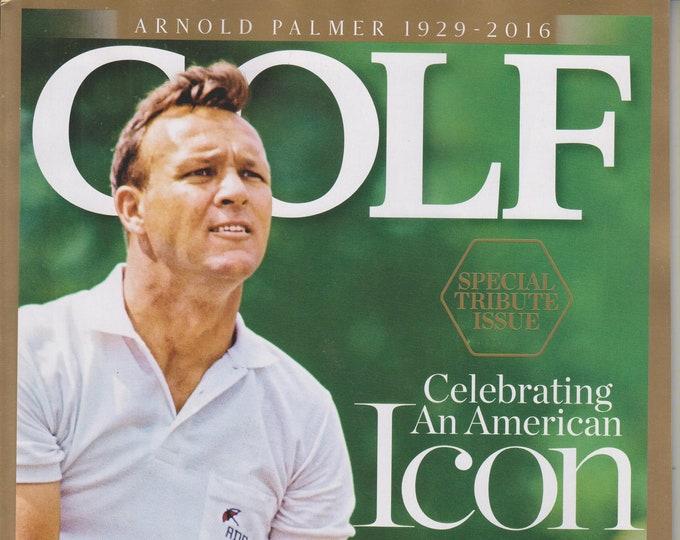 Golf December 2016 Arnold Palmer 1929-2016 Celebrating An American Icon  (Magazine: Golf, Sports)