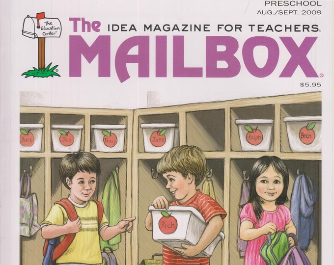 The Mailbox Preschool  August September 2009 Time for Preschool, Science Booklets, Colors (Magazine: Children's,  Educational, Teaching)