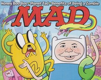 Mad Magazine #520 April 2013 Adventure Time (Magazine: Humor, Comic, Satire)