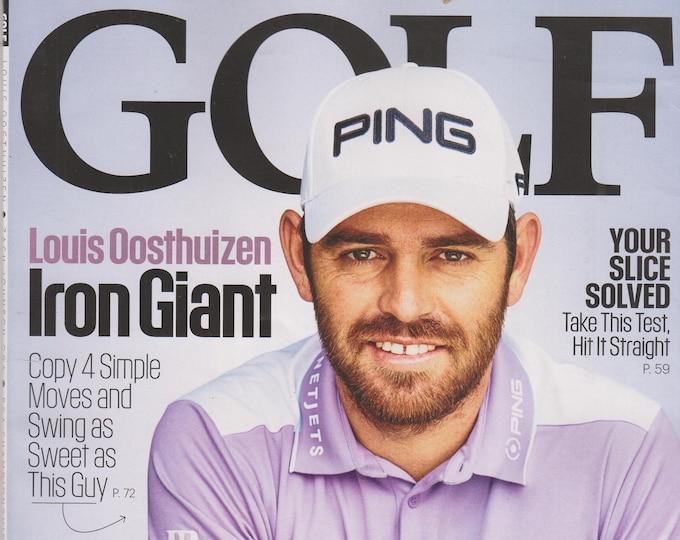 Golf July 2016 Louis Oosthuizen Iron Giant  (Magazine: Golf, Sports)