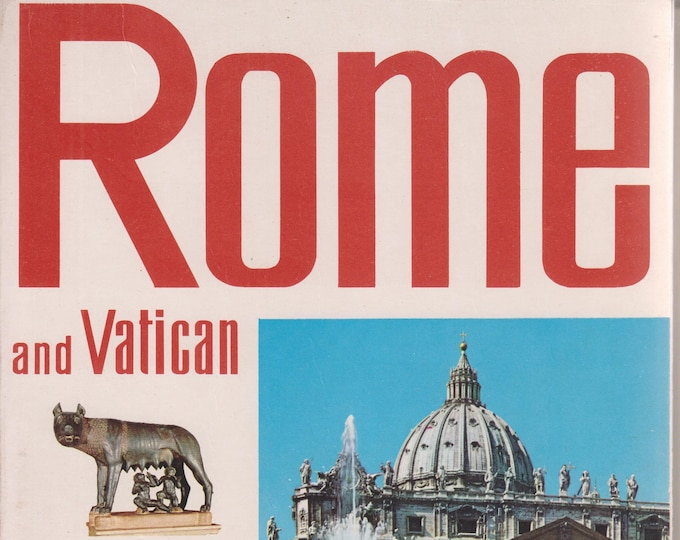 Rome  and Vatican in Colour  (Softcover:  Vatican City,  Rome,  Italy,) 1974