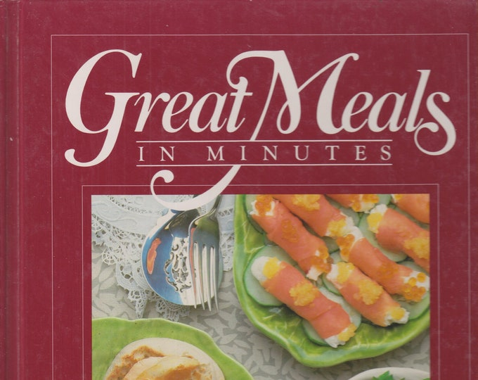 Brunch Menus (Great Meals in Minutes) (Hardcover:  Cooking, Entertaining)  1984
