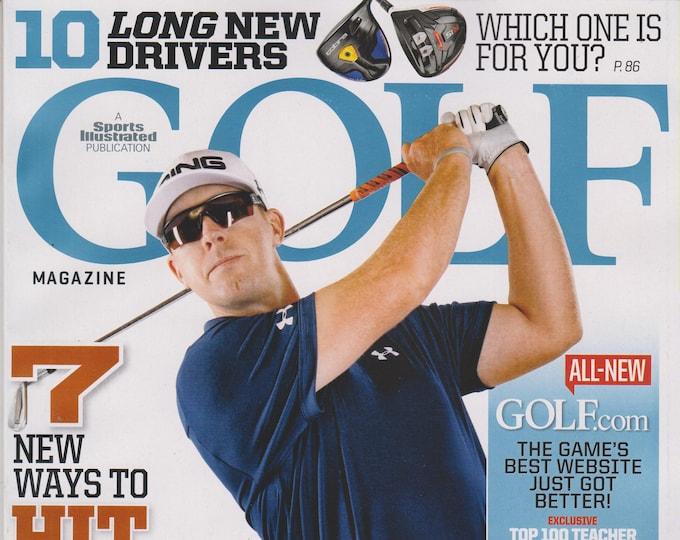 Golf February 2015 Hunter Mahan 7 New Way to Hit Every Green (Magazine: Golf, Sports)