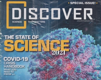 Discover January/February 2021  The State of Science 2021 (Magazine: Science)