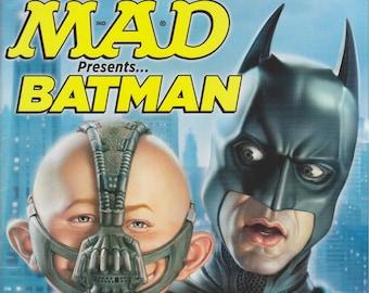 Mad Magazine September 2012 Special Mad Magazine Presents Batman (Magazine: Humor, Comic, Satire)