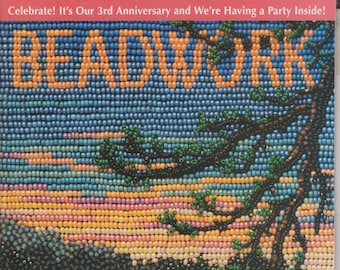 Beadwork December/January 2001 3rd Anniversary Issue  (Magazines: Crafts, Beading, DIY))