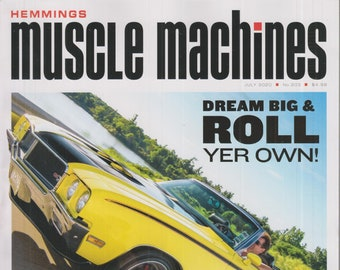 Hemmings Muscle Machines July 2020 The Phantom GSX Drop-Top Buick Never Built  (Magazine: Fast Cars, Automobile)