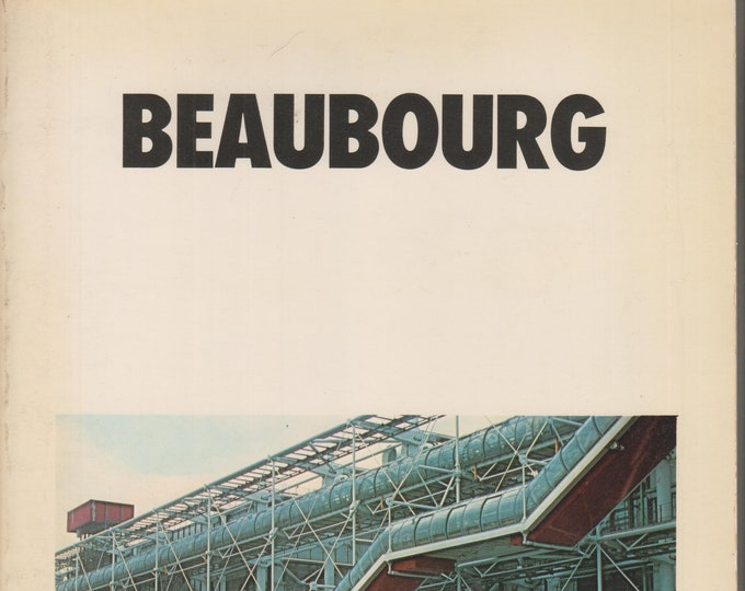 Beaubourg  (Softcover: Travel, Beaubourg Museum, France ) 1980