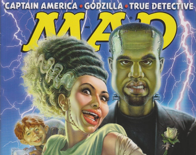 Mad Magazine #528 August 2014 Kim Kardashian & Kanye West  in Monster Marriage! (Magazine:  Humor, Comic)