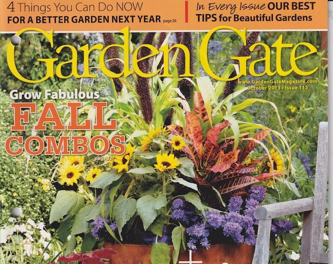 Garden Gate October 2013 Grow Fabulous Fall Combos   (Magazine: Gardening)