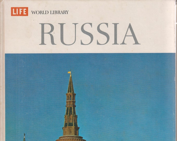 Russia  (Life World Library Series) (Hardcover: Travel, Russia, Soviet Union) 1965