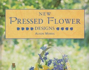 New Pressed Flower Designs  (Hardcover: Crafts)  1997