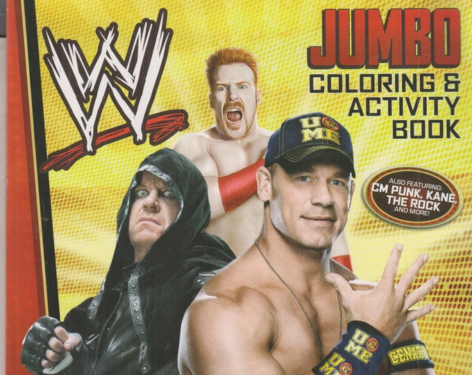 WW Jumbo Coloring Book, Brothers of Destruction , Rey Mysterio Picture Books  (Softcover: Coloring Book, Picture Book, WWE Wrestlers)