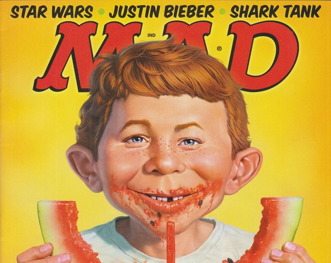 Mad Magazine #529 October 2014 The 50 Worst Things About Food (Magazine: Humor, Comic, Satire)