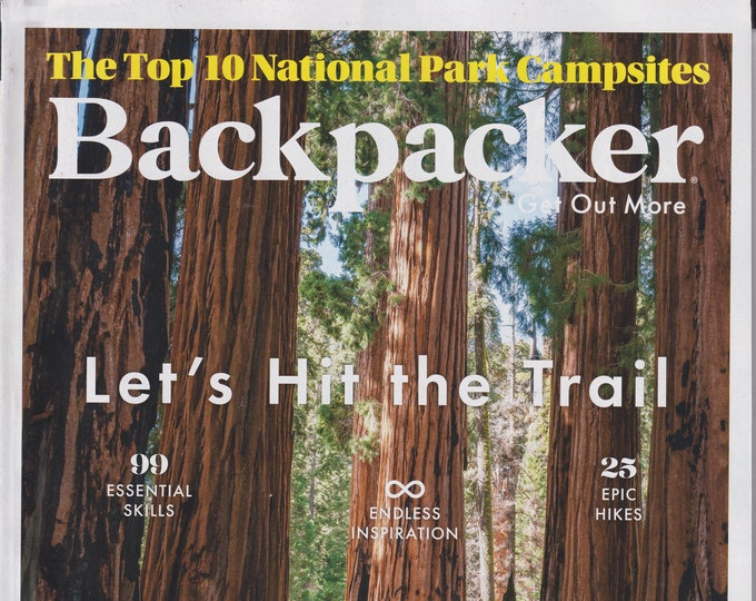 Backpacker January February 2021 Let's Hit the Trail   (Magazine: Outdoor Recreation)