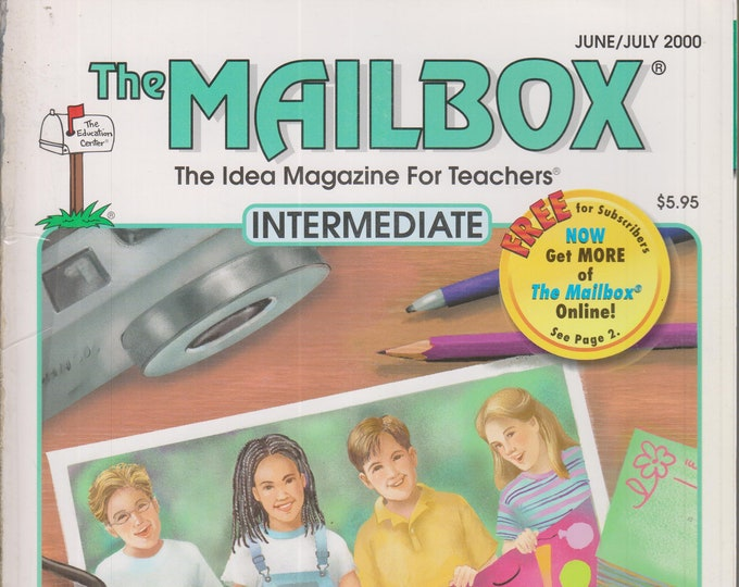 The Mailbox Intermediate June July 2000 Poetry, End of Year Ideas, Canada, Math, Maniac Magee (Magazine:  Educational, Teaching)
