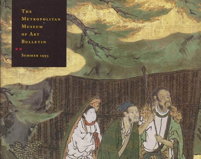 Immortals and Sages - Paintings From Ryoanji Temple  The Metropolitan Museum of Art Bulletin Summer 1993 (Staplebound: Art, Fine Arts)